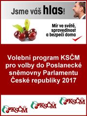 Obálka program KSČM